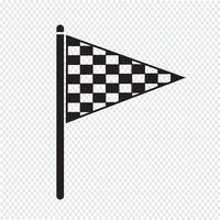 vlag pictogram symbool teken