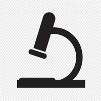 Microscoop pictogram symbool teken vector