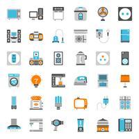 huishoudelijke apparaten pictogram vector