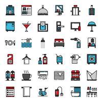 Hotel Service vullen overzicht pictogram