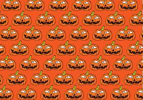Halloween-pompoenachtergrond