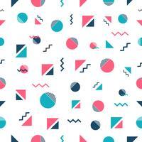minimaal naadloos patroon vector