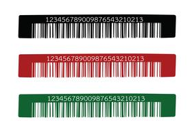 Streepjescode. illustratie
