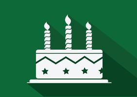 Verjaardagstaart pictogram