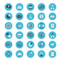 zakelijke platte pictogram