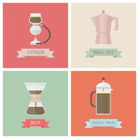 ontkoppel koffiemethoden