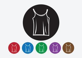 Kleding shirt en T-shirt Pictogram kleding pictogrammen