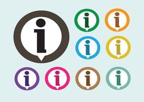 Informatie teken pictogram