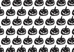 Halloween-pompoenachtergrond vector