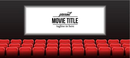 bioscoop met scherm