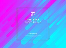 Abstracte kleurrijke geometrische dynamische vormenachtergrond met witte kaderruimte voor tekst.