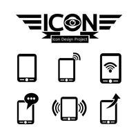 Telefoon pictogram symbool teken