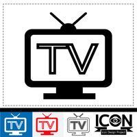 tv pictogram symbool teken