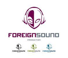 Buitenlands geluidslogo