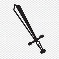 zwaard pictogram symbool teken