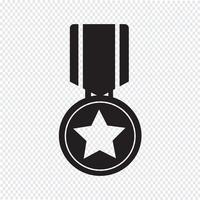 medaille pictogram symbool teken vector