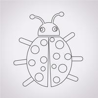 Bug pictogram symbool teken vector