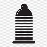 condoom pictogram symbool teken vector