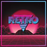 Retro 80's Style 01 vector