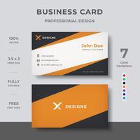 Modern visitekaartje ontwerp vector