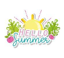 Hallo zomer tekenfilms