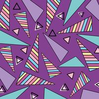 Memphis patronen achtergrond vector