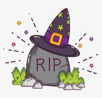 Halloween tekenfilms concept vector