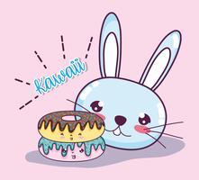 Leuke Kawaii Cartoons vector