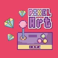 pixel kunst concept