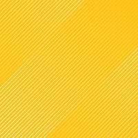 Abstract wit gestreept lijnenpatroon diagonaal textuur op gele kleurenachtergrond. vector