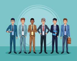 zakenmensen karakters