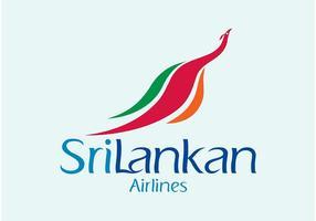 Srilankan luchtvaartmaatschappijen vector