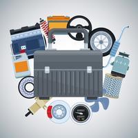 Autofabriek en onderdelen