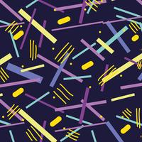 Memphis-stijl met kleur geometrisch ontwerp