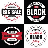 Black Friday Banner Sale, beste tempalate voor uw web