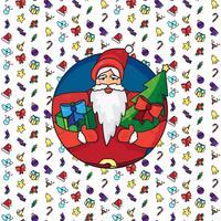 Kerst Kerstman vector