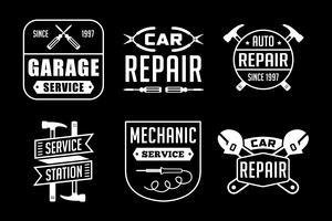 Mechanisch logo en insigne, goed voor afdrukken