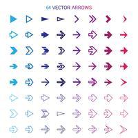 Geïsoleerde pijlen set, ongedaan maken en vorige knoppen vector