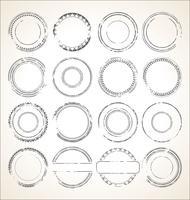 Verzameling van grunge rubberen stempel vector