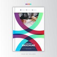 Curve Jaarverslag Zakelijk, creatief ontwerp vector