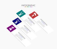 Zakelijke infographic tijdlijnen vector