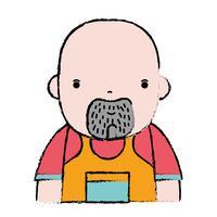 doodle man loodgieter baan voor reparatie