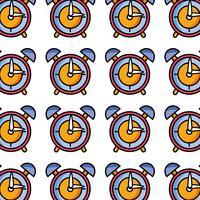 ronde klok alarm object ontwerp
