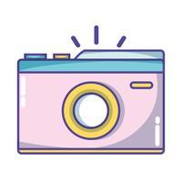 digitale camera om een foto te maken
