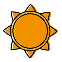 zon pictogramafbeelding