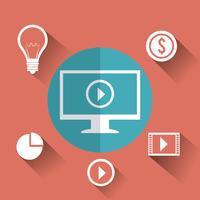 Sociale media marketing vector