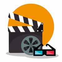 Bioscoop pictogrammen