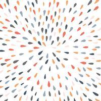 kleurenpalet splash drop vector