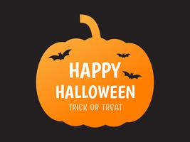 Happy Halloween-pompoen