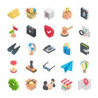Zakelijke Icons Set vector